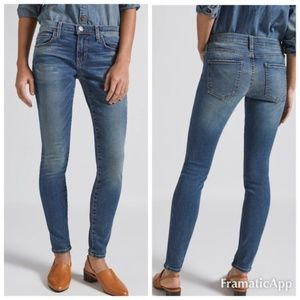 Current/Elliott The Ankle Skinny Cheville jeans 0